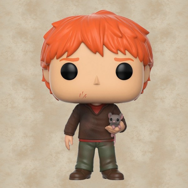 Funko POP! Ron Weasley mit Krätze - Harry Potter