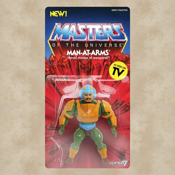 Vintage Actionfigur Man-At-Arms - Masters of the Universe