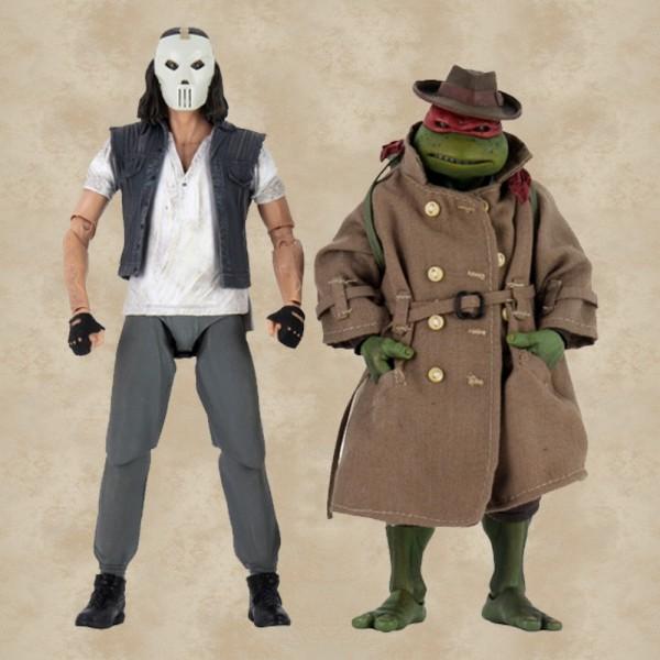 Casey Jones und Raphael Action Figuren - Teenage Mutant Ninja Turtles