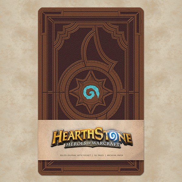 Hardcover Notizbuch Heroes of Warcraft Logo - Hearthstone