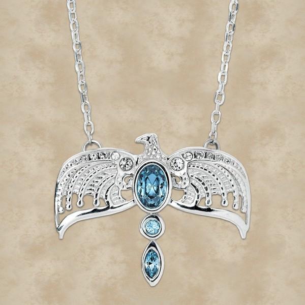 Ravenclaw Diadem Halskette mit Swarovski Kristallen – Harry Potter