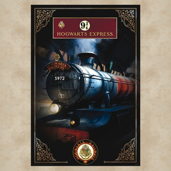 Hogwarts Express Maxi Poster - Harry Potter
