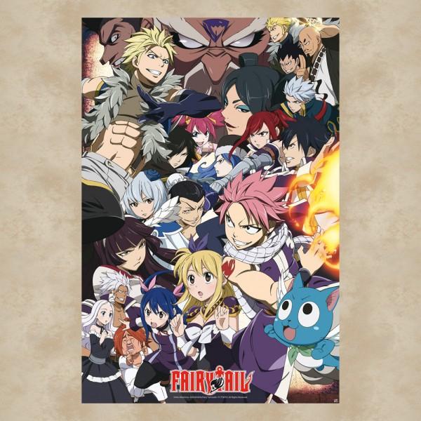 Gildenkampf Maxi Poster - Fairy Tail