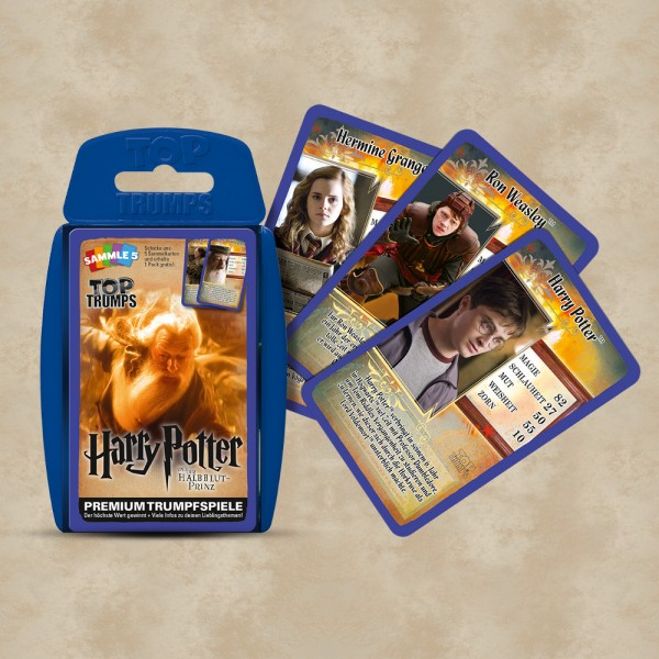 TOP TRUMPS Harry Potter und der Halbblutprinz - Harry Potter