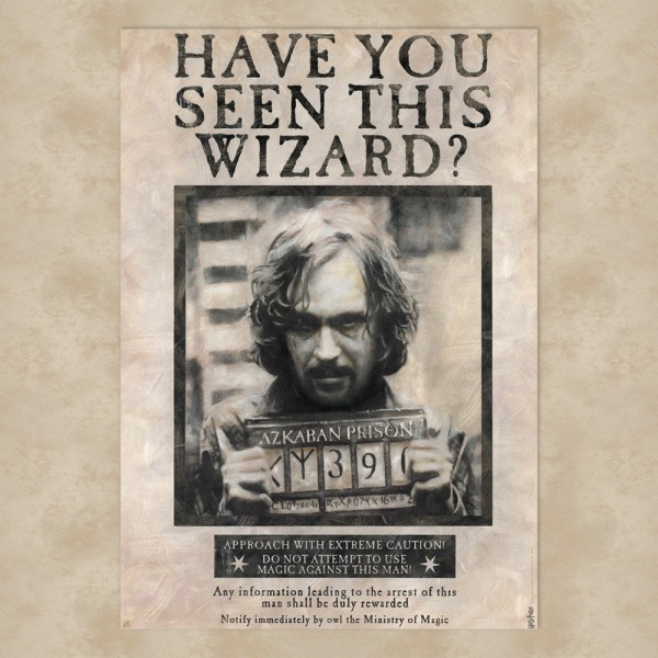 Wanted Sirius Black Maxi Poster - Harry Potter