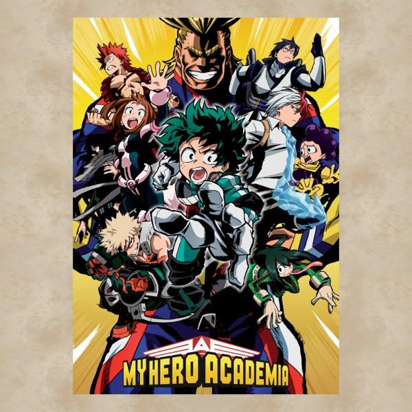 My Hero Academia Gruppe Maxi Poster