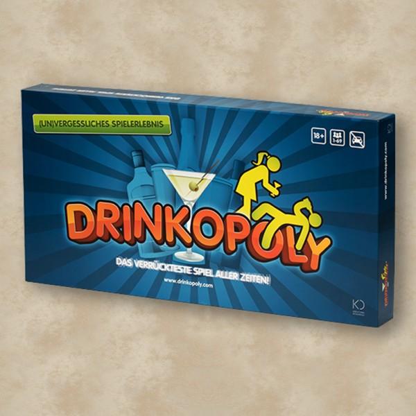 Drinkopoly - (Un)vergessliches Spielerlebnis (Deutsch)