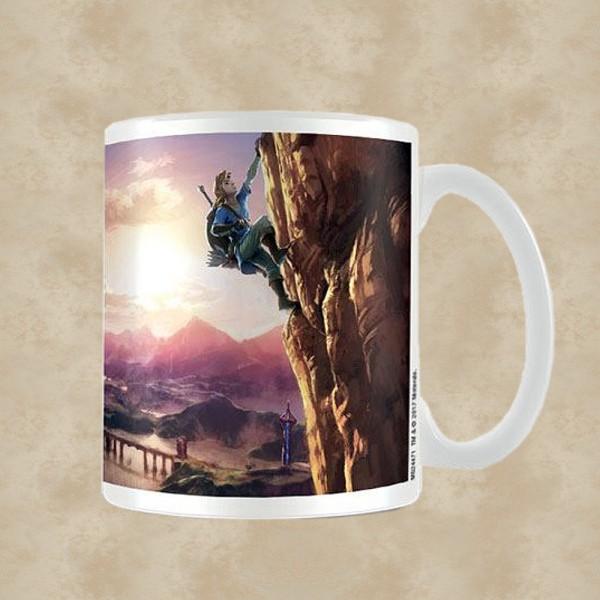 Breath of the Wild Tasse The Climb - Zelda