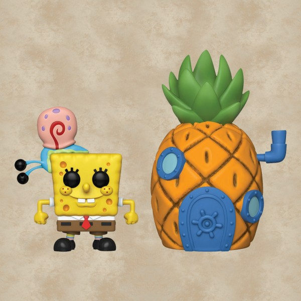 Funko POP! Town Spongebob with Gary & Pineapple House