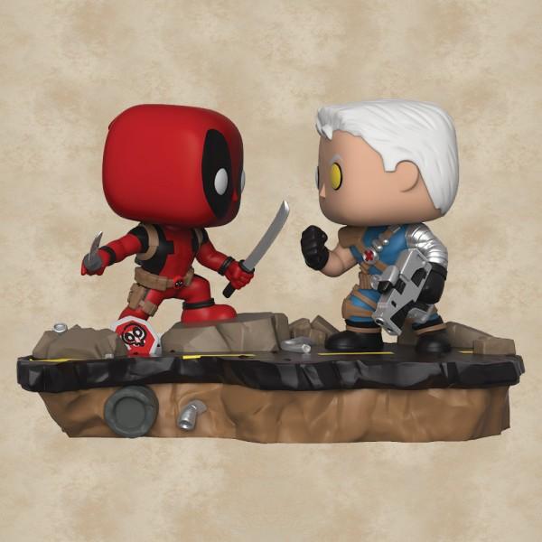 Funko POP! Deadpool vs. Cable (Comic Moments) - Deadpool