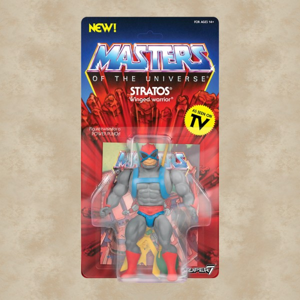 Vintage Actionfigur Stratos - Masters of the Universe