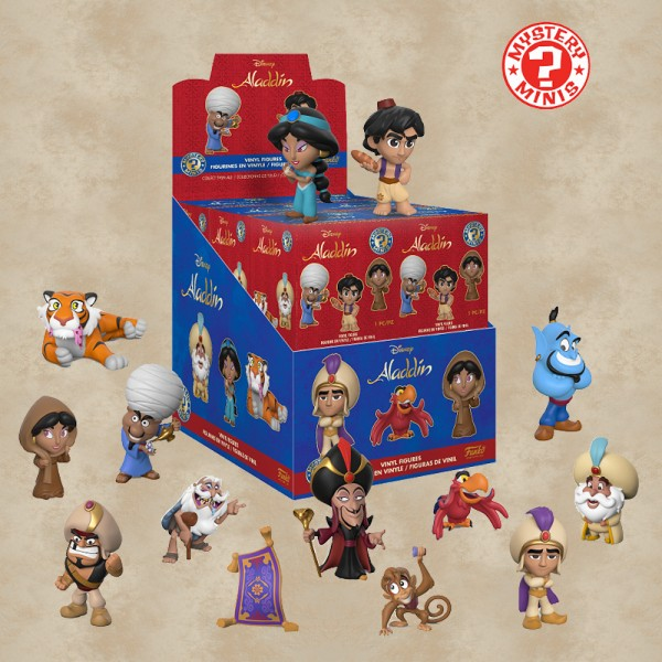 Funko Mystery Mini (Blind Box) - Aladdin