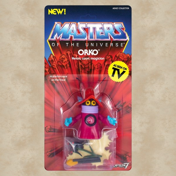 Vintage Actionfigur Orko - Masters of the Universe
