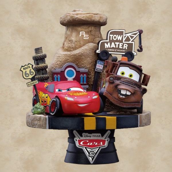 Cars Diorama D-Select - Disney Pixar