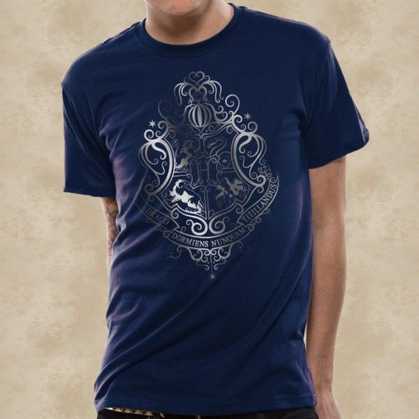 Hogwarts Silver Crest T-Shirt - Harry Potter