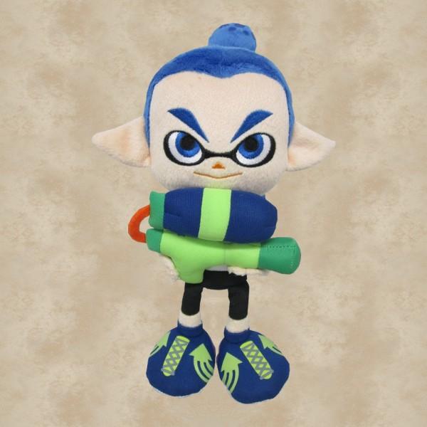 Splatoon Inkling Boy Blue Plüschfigur (23 cm) - Nintendo